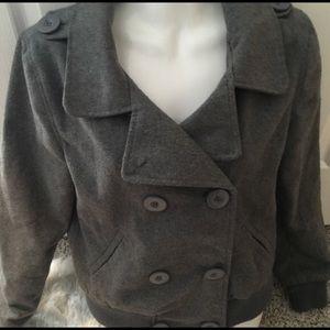 Wet seal grey coat